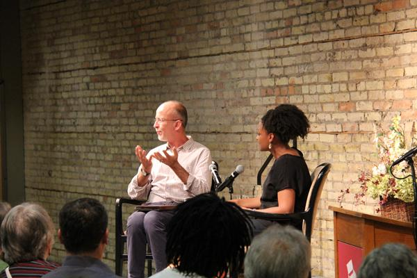 Pulitzer Prize-winner Tracy K. Smith in conversation with Mark Doty at the Loft's Poetry Conference