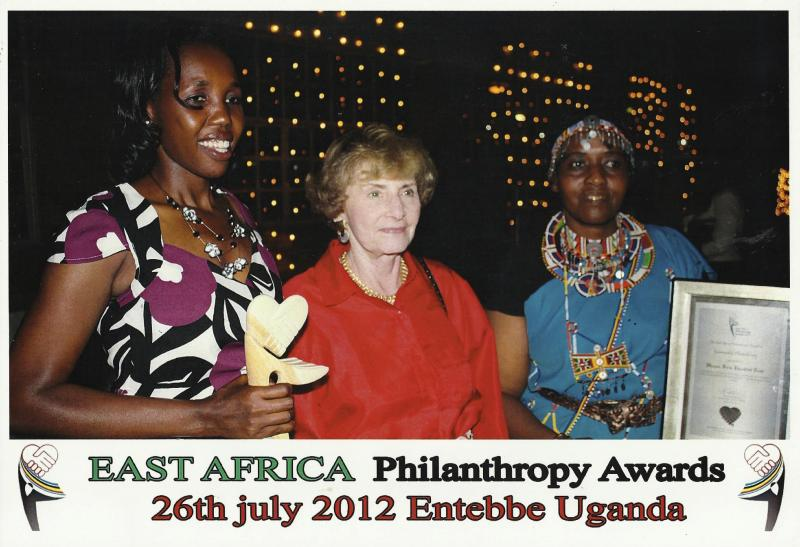 MGEF Kajiado receives EAAG Award for Community Philanthropy