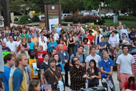 ENC Vigil For Equality [Sept 2011]