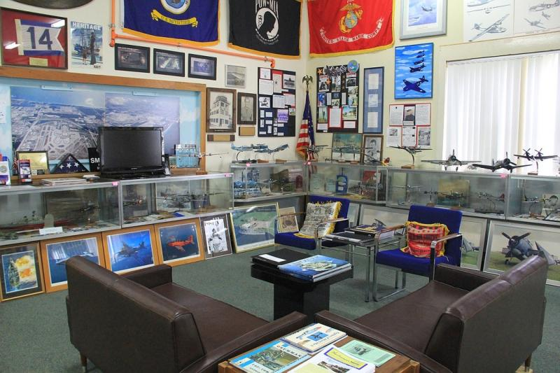 Main exhibit room