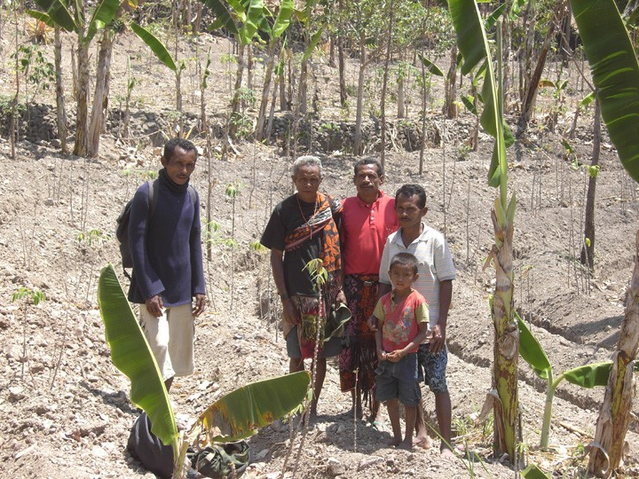 World Neighbors programs supports all generations, such as this family in Timor Leste, SE Asia