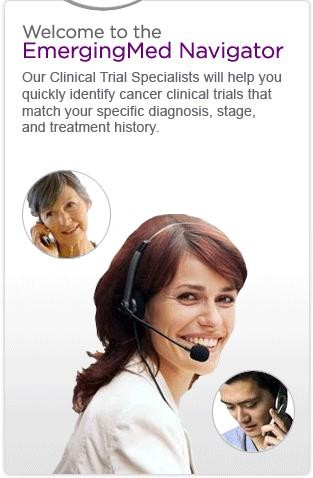 Live 24 hr Clinical Trial help desk