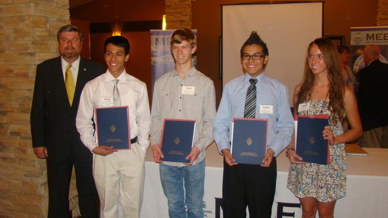 2012 High School Environmental Science/Engineering Scholarship Winners