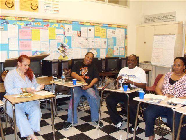 Workshop for parents at McClymonds High School, Oakland