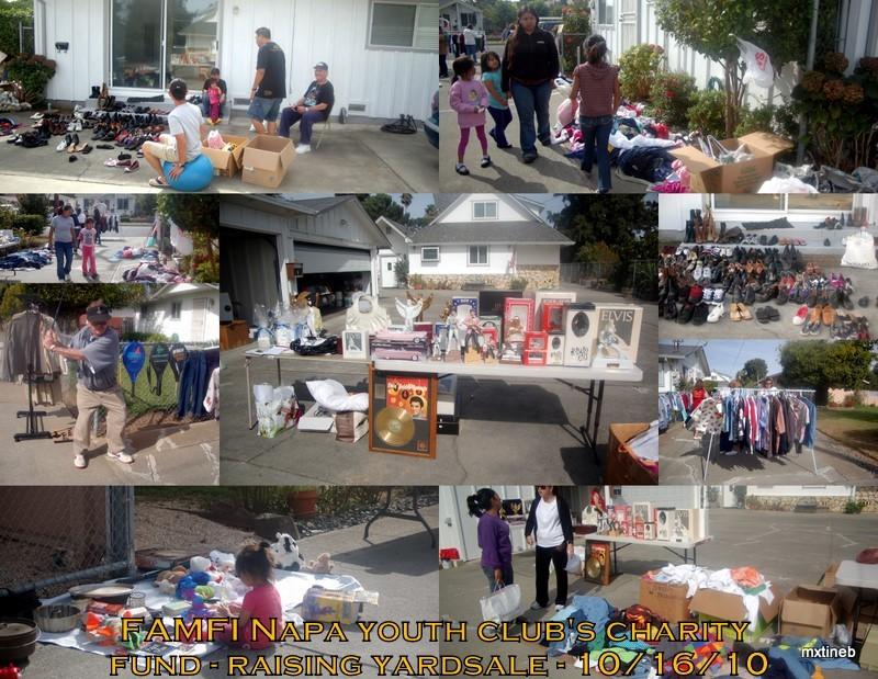 FAMFI Yardsale Fundraising 2010
