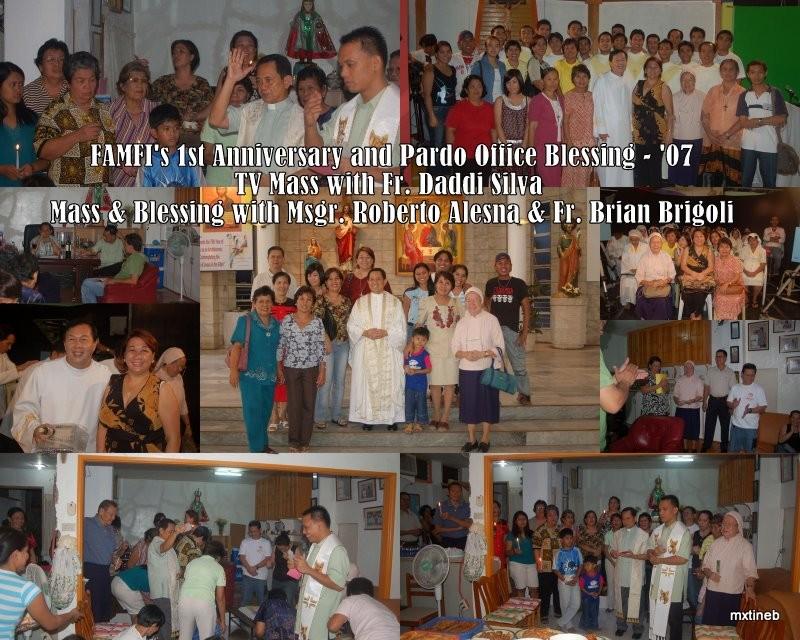 FAMFI's 1st Anniversary