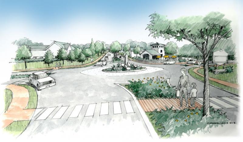 roundabout conceptual design