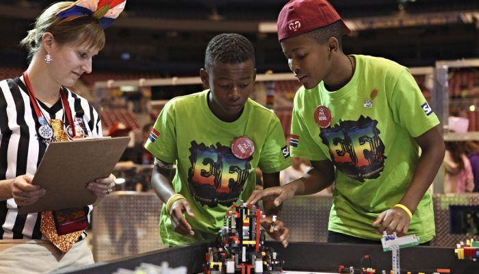 FIRST LEGO League (FLL) - Grades 4-8
