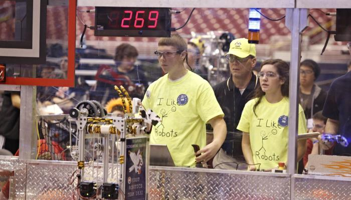 FIRST Robotics Competition (FRC) - Grades 9-12