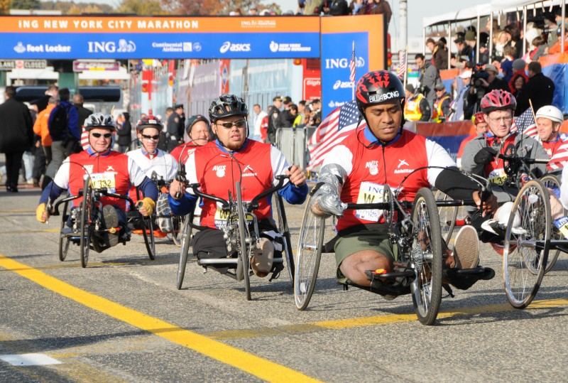 Freedom Team in the ING NYC Marathon