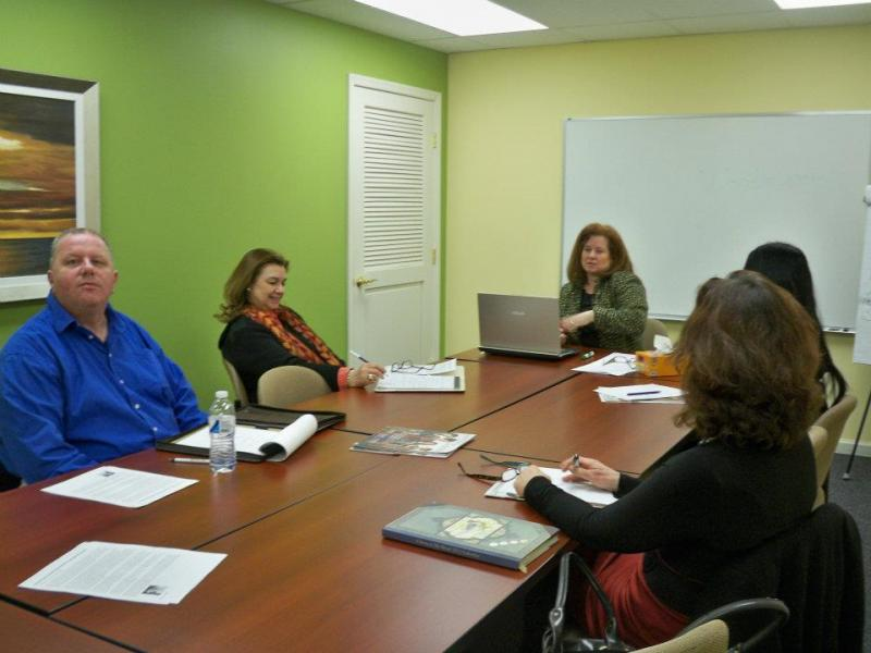 Career Coach Cindy Virtue hosts a free Job Club in Feb. 2012