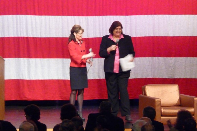 Sarah Palin introduces MIAP