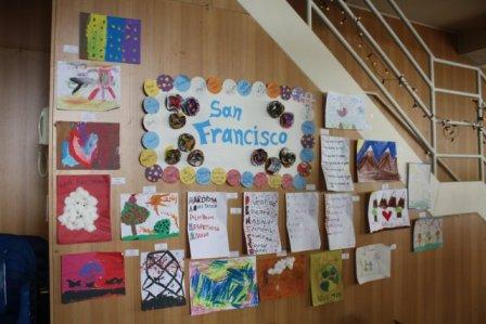 Children's artwork at our Festival de Arte