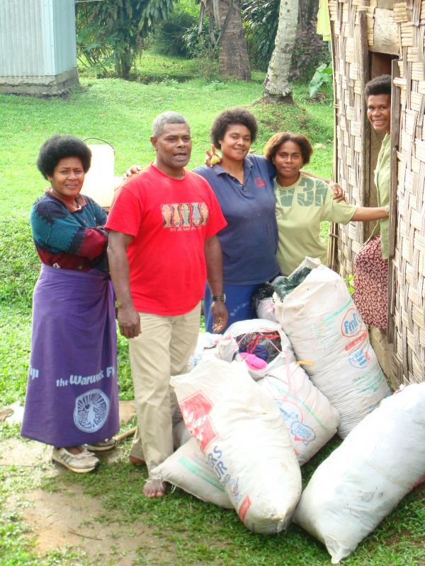 Community aid in Fiji Islands