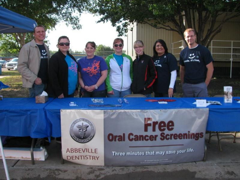 Free OC Screening Event with our partners at Abbeville Dentistry