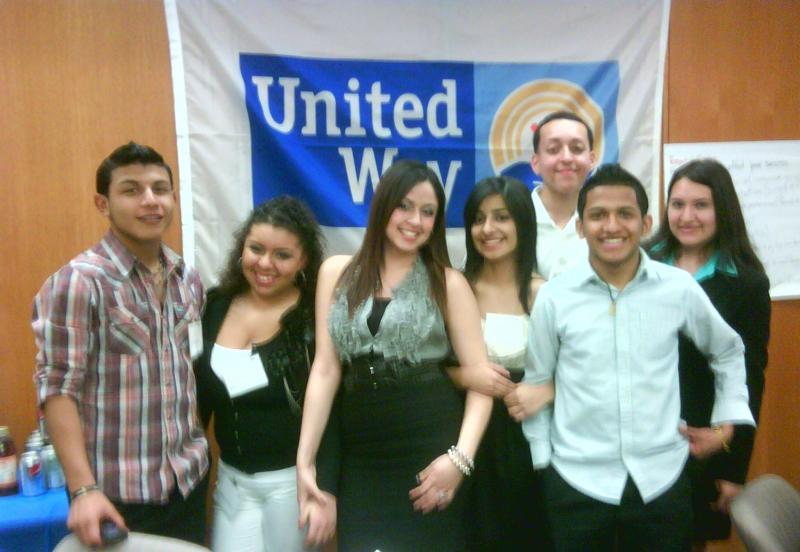 Members of FUTURO mentoring program