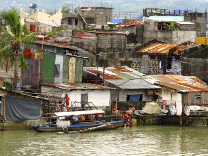 A vulnerable community in the Philippines