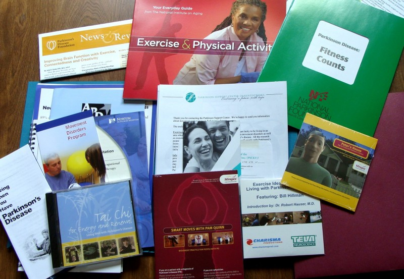 One of 13 FREE info packs on topics of importance to people with Parkinson's disease