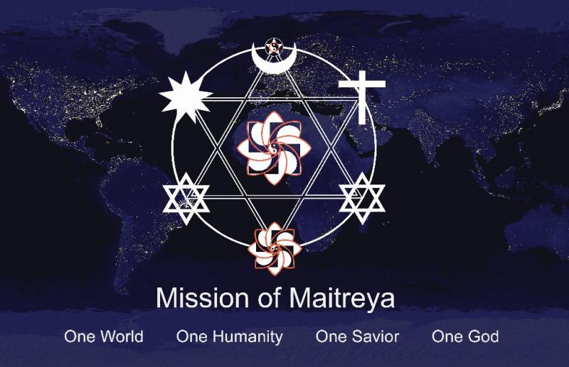 The Greatest Sign over the earth!  Learn more: http://www.maitreya.org/english/GS.HTM