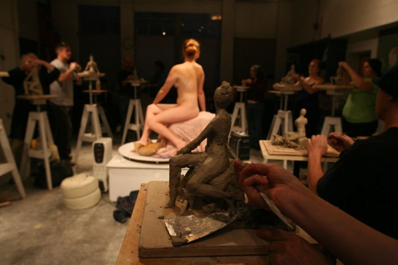 Gage teaches drawing, painting and sculpting from the figure & working from observation.