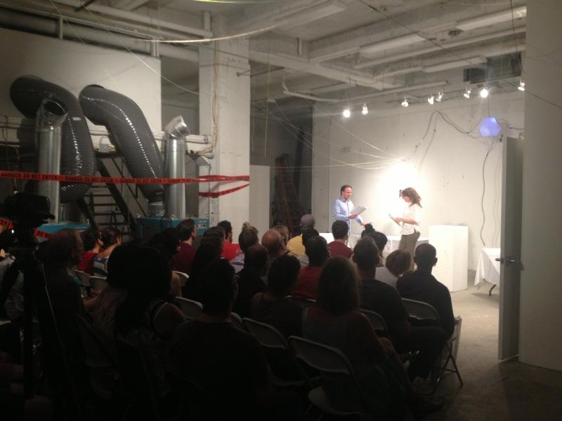 Staged Reading of Geppetto Complex by Impossible Bottle at 210 E 43rd
