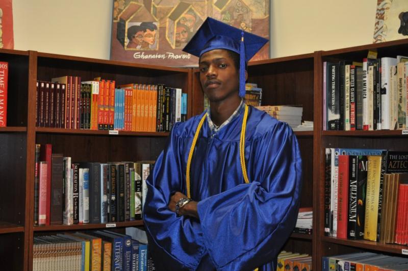 A proud graduate of Young Detroit Builders