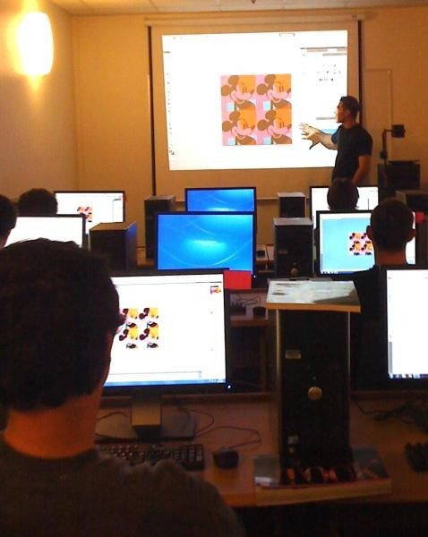 Danny Caudillo teaches Graphic & Web Design at Phoenix House