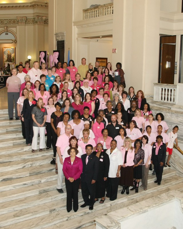 Breast Cancer Awareness Day at the Oklahoma State Capitol 2010