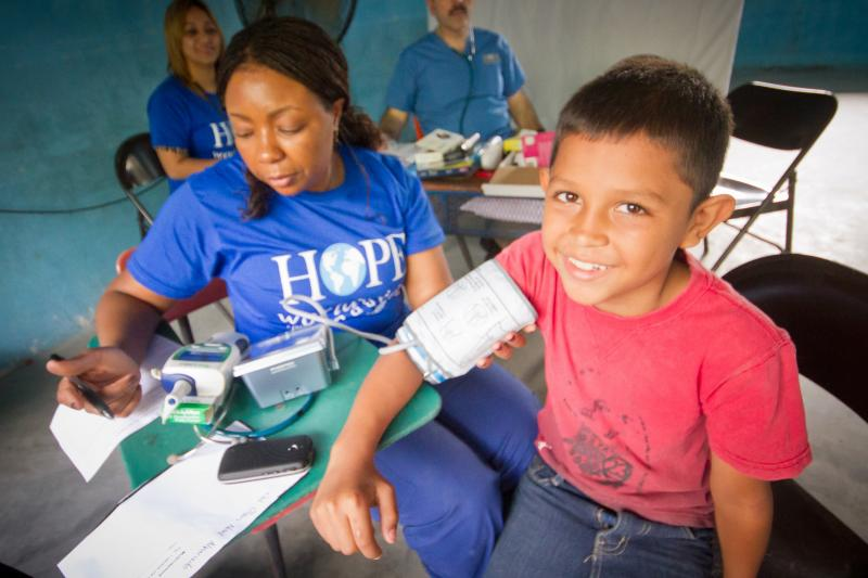 Central America Community Service Brigades bring healthcare to families in need.