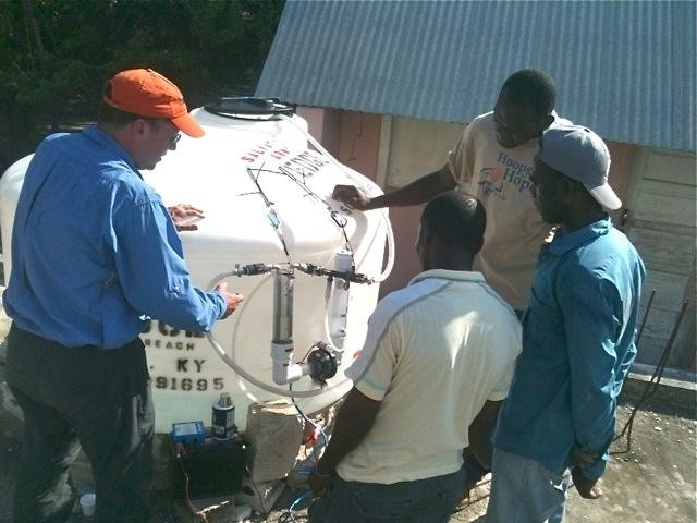 Training Haitian water specialists