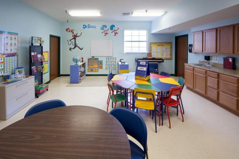 Children's Center classroom