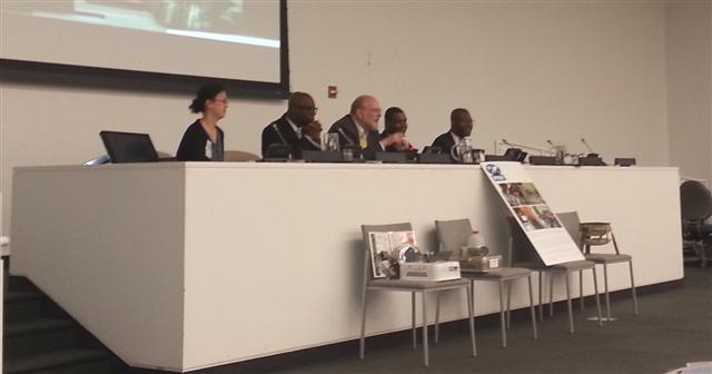 Panelists at the PPAF Consultation on Ethanol Cookstoves and Fuel, at the United Nations, April 4, 2013