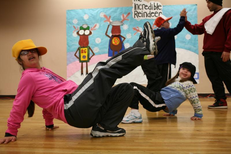 Breakdancing!