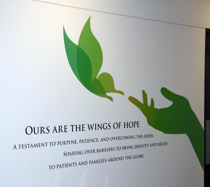 Ours are the Wings of Hope Wall