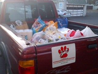 Hurricane Sandy Pet Supplies Drive