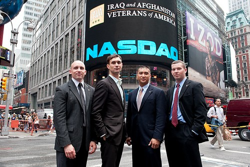 IAVA Rings the Closing Bell at NASDAQ 2009