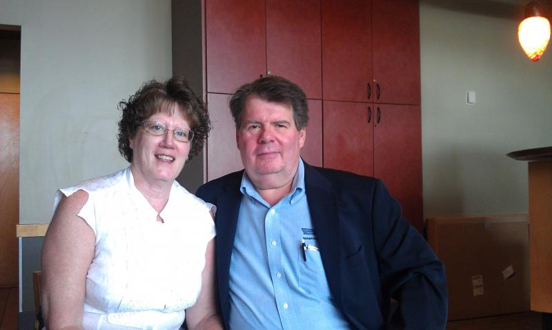 A recent LINC client, Reed and wife Ellen. Learn more about their story by visiting our website.