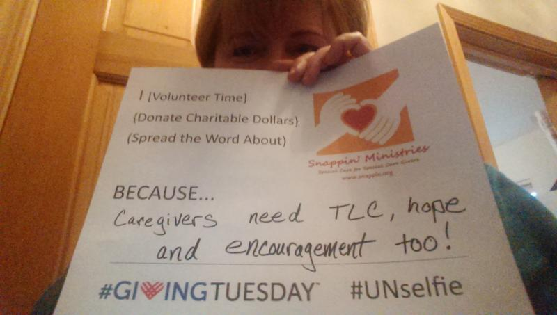#GivingTuesday 2013.  Here's why our Executive Director gives of her personal time and money.  How about YOU?