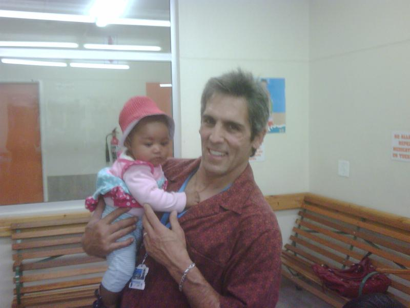 Uncle Robert at clinic