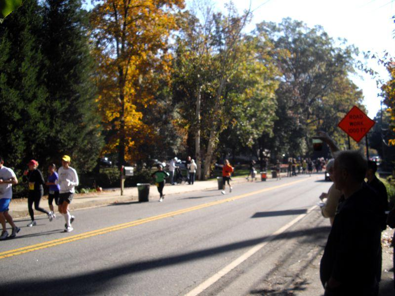 2011 Atlanta Marathon on LaVista Road