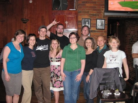 Wii/Rock Band Night in Boston, May 2009
