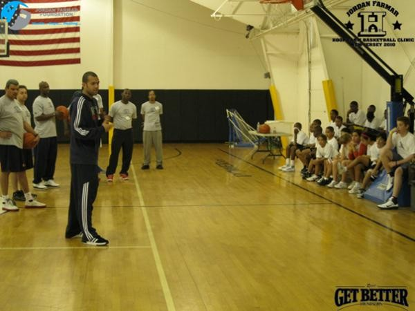 Rico's Get Better Foundation partners with the Jordan Farmar Foundation for  Hoop Farm Clinic in NJ