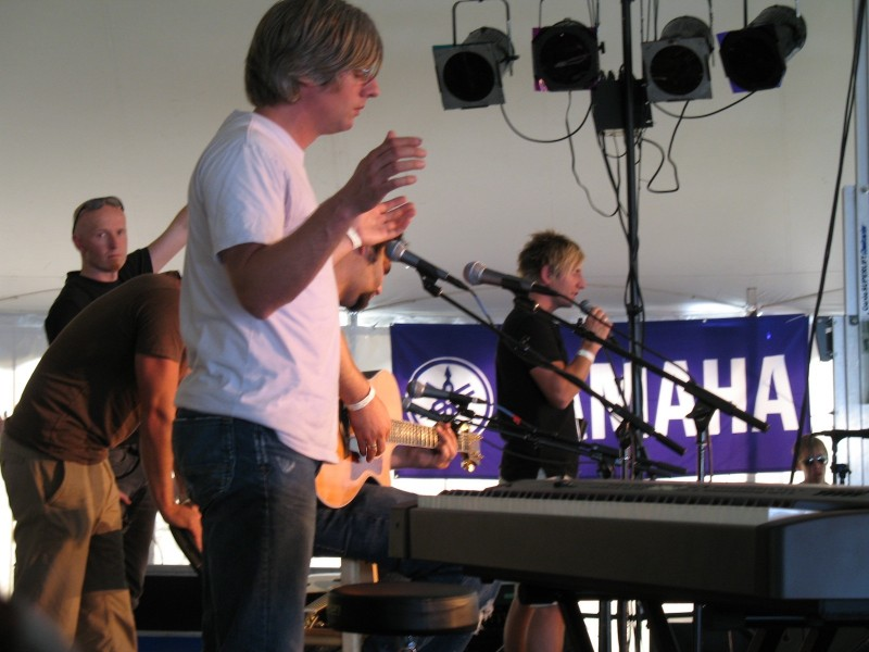 Music training at festivals