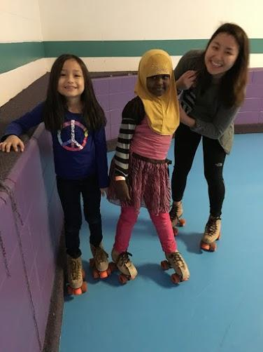 Field trips like roller skating, provide opportunities for youth in our out-of-school time programs to get out in the community to have fun.