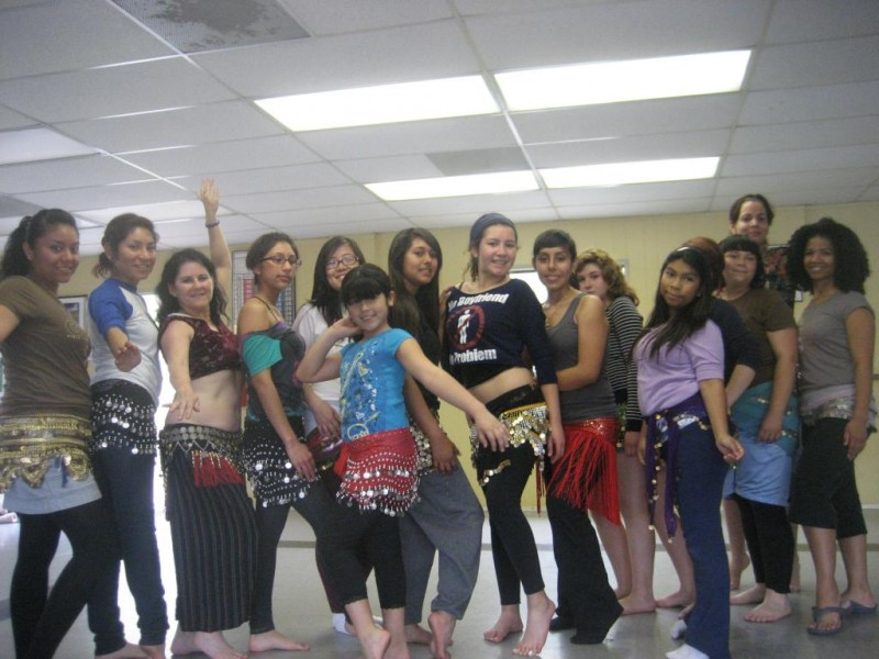 Group Mentoring Activity - Belly dancing lesson