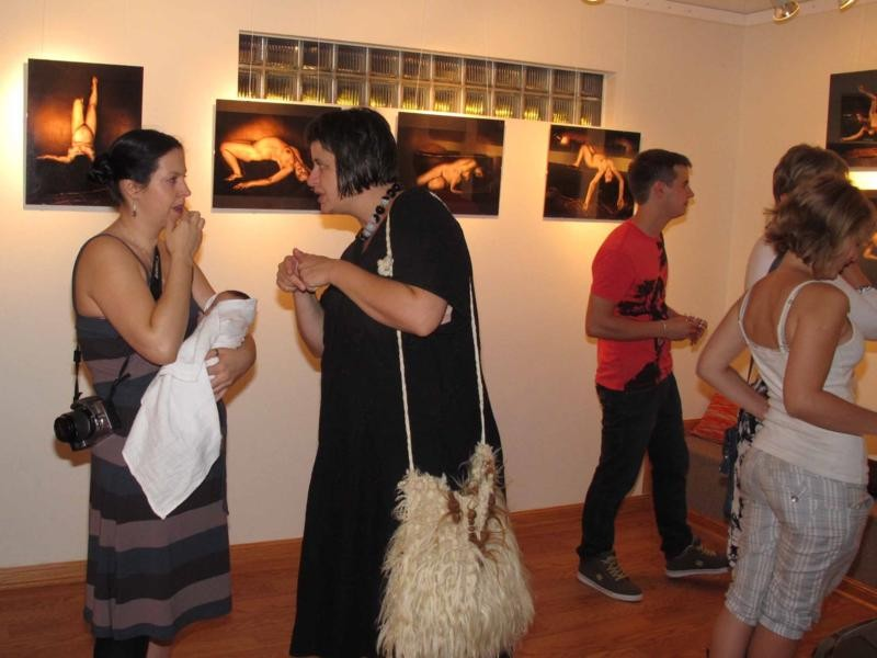 Opening of Photo Exhibition Beyond the Frames by Vladimir Frumin