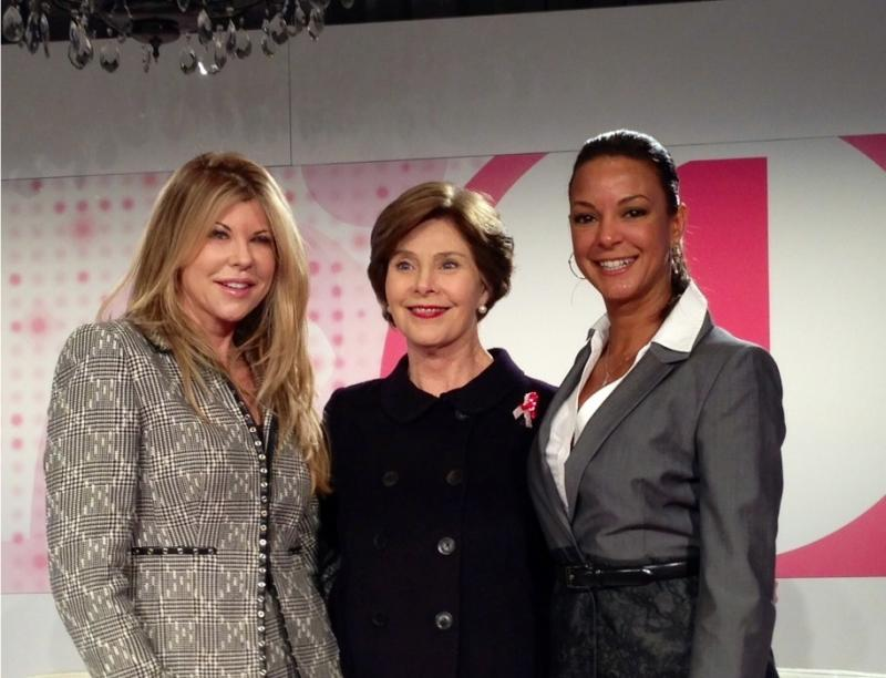 Lil Spitzer & Eva La Rue Join Fmr First Lady Laura Bush at the Global Women's Cancer Summit
