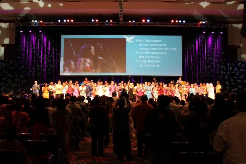 Worship at the 20th Baptist World Congress, Honolulu, 2010