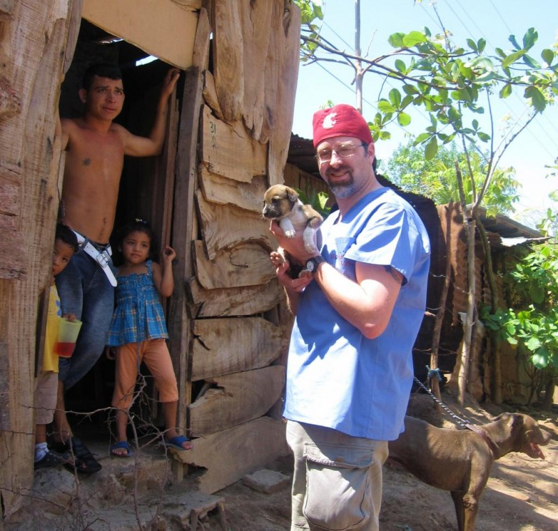 Making a house call in Nicaragua