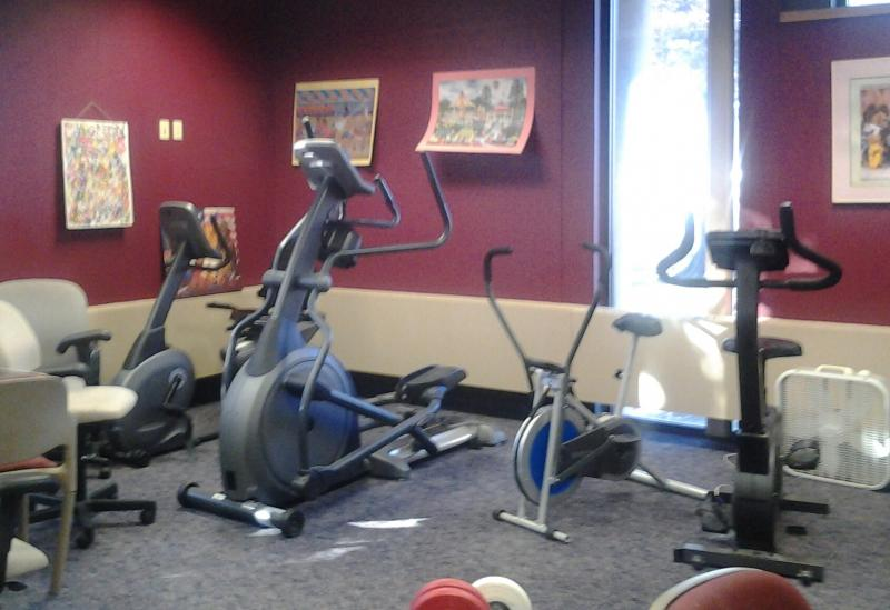 BTH Clubhouse Exercise Room